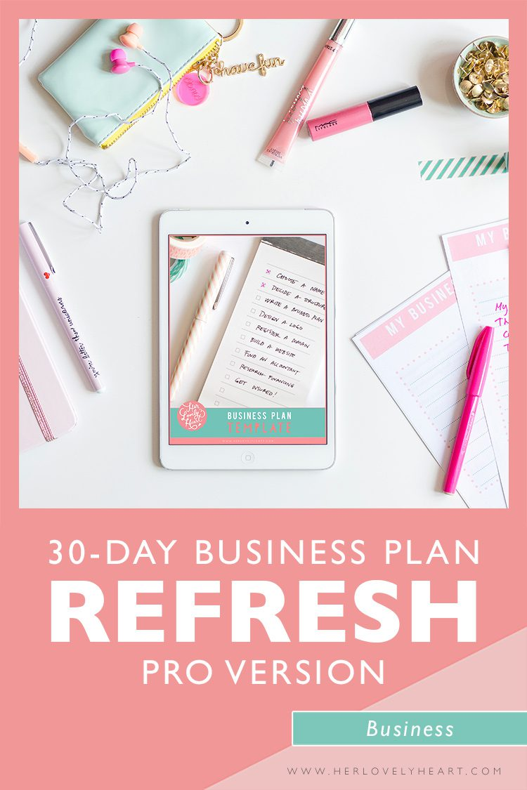 30 day business plan refresh course pro version. Join the Breakfast Club and get access to ALL our courses!
