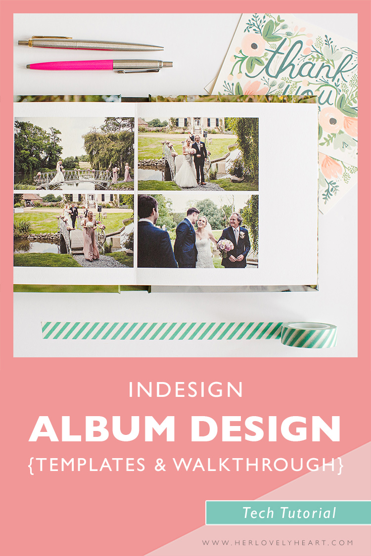 indesign cs5 templates free download - indesign album templates walkthrough the her lovely