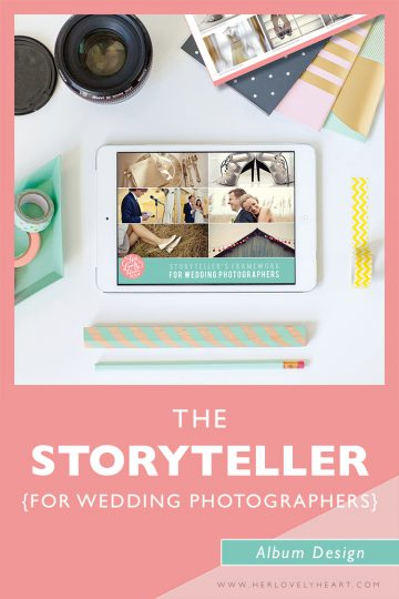 The Storyteller course for wedding photographers. Join the Breakfast Club and get access to ALL our courses!