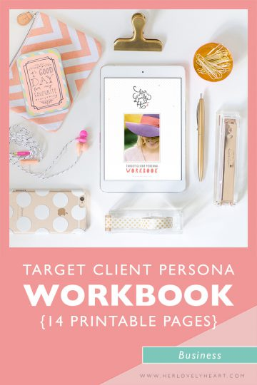 Get clear on who your business is talking to with the Target Client Persona Workbook. As a member of The Breakfast Group you get access to ALL our resources.